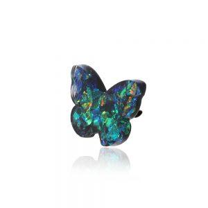 Broșă fluture verde mare, broșă ac de siguranță, broșă femei elegantă, bijuterii verde smarald, jad verde, reflexii arămiu auriu